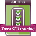 Badge Yoast SEO training