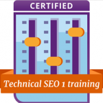 Technical SEO certified