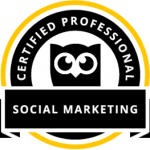 Hootsuite social marketing certified